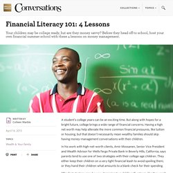 Financial Literacy 101: 4 Lessons - Wells Fargo Conversations