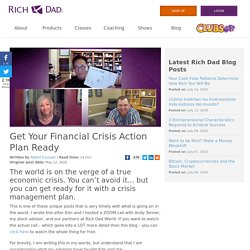 Get Your Financial Crisis Action Plan Ready