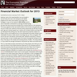 Financial Market Outlook for 2013