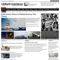 Global Crisis News - financial crisis, economic crisis, subprime