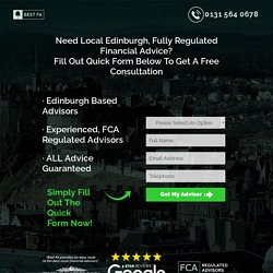 Financial Advisor Edinburgh