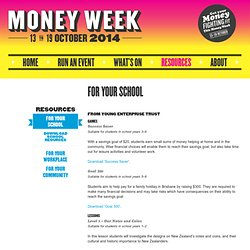 Financial education games for school students