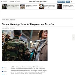 Europe Training Financial Firepower on Terrorism