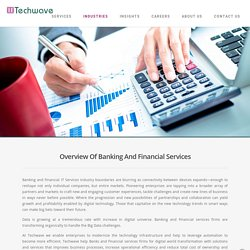 Banking and Financial Industry IT Services, Financial Software Solutions