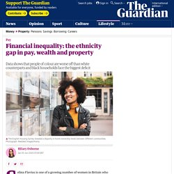 Financial inequality: the ethnicity gap in pay, wealth and property