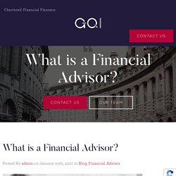 What is a Financial Advisor - Inheritance tax planning
