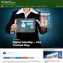 Financial Institutions' Digital Identity Trust