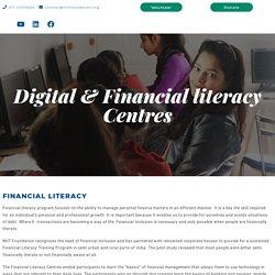 Digital Financial Literacy Centres - NIIT Foundation