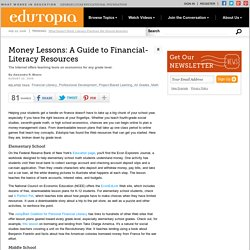 Money Lessons: A Guide to Financial-Literacy Resources