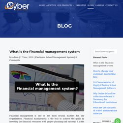 What is the financial management system