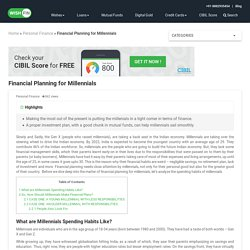 How Financial Planning for Millennials can the Economy & Them