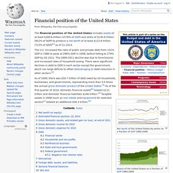 Financial position of the United States - Wikipedia