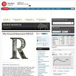 pourquoi la répression financière va échouer