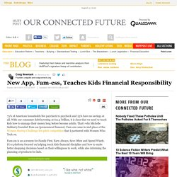 New App, Fam-ess, Teaches Kids Financial Responsibility