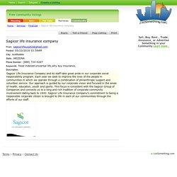 Financial - Sagicor Life Insurance company