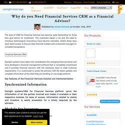 Why do you Need CRM for Financial Services to Enhance Business?