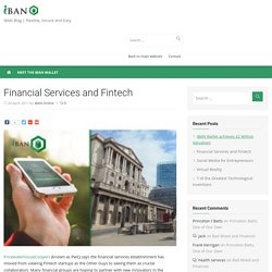 Financial Services and Fintech -