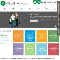Financial Planning Shepparton, Strategic Planning Shepparton, Victoria, Australia