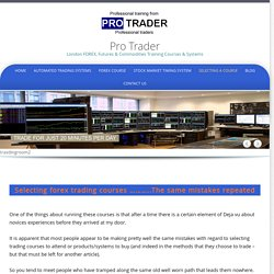Forex Trading Course in London