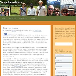 Financial Update | Vagabondians
