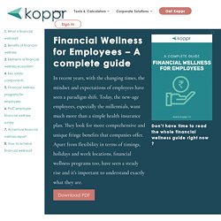 Employee Financial Wellness Guide - Koppr