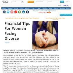 Financial tips for women facing divorce