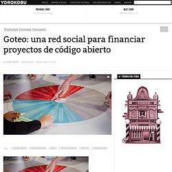 Goteo: una red social para financiar proyectos de código abierto