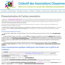 Financiarisation de l'action associative