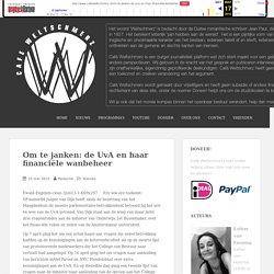 Om te janken: de UvA en haar financiële wanbeheer – Café Weltschmerz