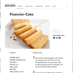 Financier-Cake - Annemarie Wildeisen