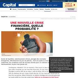 Une nouvelle crise financière, quelle probabilité