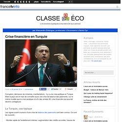 Crise financière en Turquie