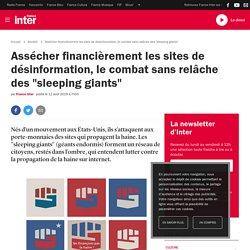 """Assécher financièrement les sites de désinformation, le combat sans relâche des """"sleeping giants"""""""
