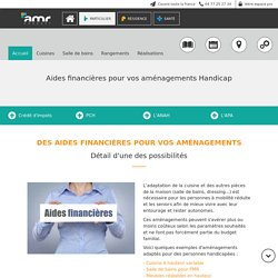 ▷ Aides Financières Pour Vos Aménagements Handicap - Amrconcept