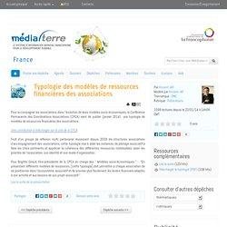 Typologie des modèles de ressources financières des associations