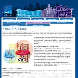 Aides financières - Fondation des Aveugles et Déficients Visuels