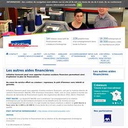 Les autres aides financières - Initiative Genevois, membre d'INITIATIVE FRANCE, 1er réseau associatif de financement des créateurs d'entreprise