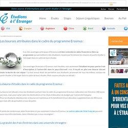 Les aides financières du programme Erasmus