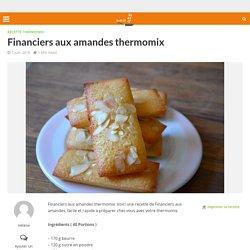 Financiers aux amandes thermomix