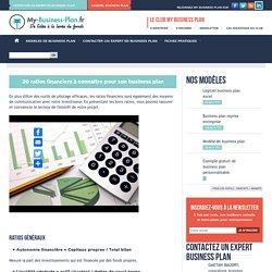 20 ratios financiers à connaitre pour son business plan