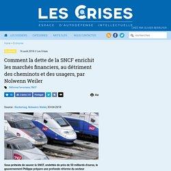 » Comment la dette de la SNCF enrichit les marchés financiers, au détriment des cheminots et des usagers, par Nolwenn Weiler