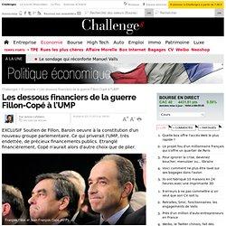 Les dessous financiers de la guerre Fillon-Copé à l'UMP