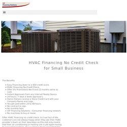 HVAC Financing No Credit Check - VIP Financing Solutions