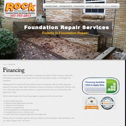 Here, You Know About Foundation Finance Company