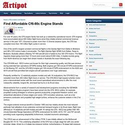 Find Affordable Cf6-80c Engine Stands