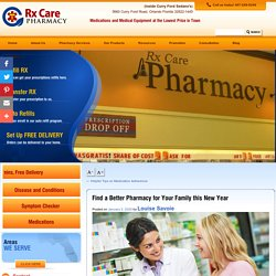 Find a Better Pharmacy for Your Family this New Year