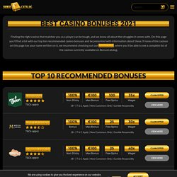 Find The Best Casino Bonuses And Offers