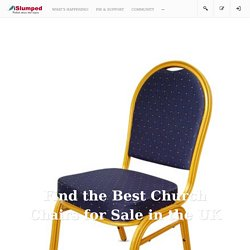How to Find the Best Church Chairs for Sale in the UK