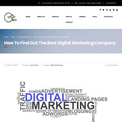 How to Find Out The Best Digital Marketing Company