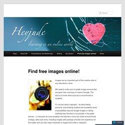 Find free images online!